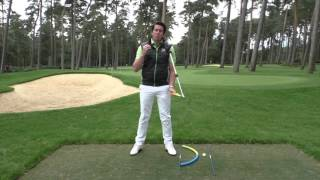 The versatility of the Sure-Set to create the bottom arc of the golf swing