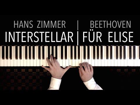 INTERSTELLAR FÜR ELISE   Paul Hankinson Piano Cover Hans Zimmer meets Beethoven