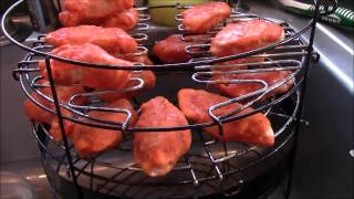 Cooking Chicken Wings On The Big Easy Srg