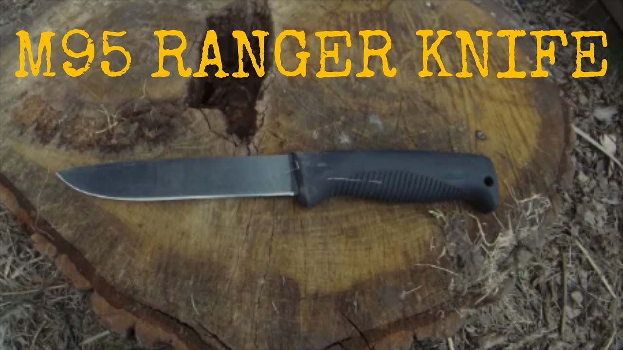 M95 Army Ranger Knife Review Youtube