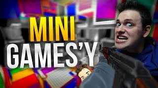 Ja i Enigma vs. Counter Strike: GO [Mini Games]