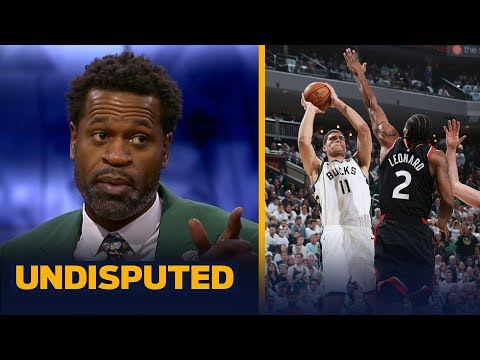 Brook Lopez was the biggest reason Bucks beat Raptors in Game 1 — Stephen Jackson | NBA | UNDISPUTED