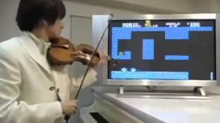 바이올린으로 슈퍼마리오 연주