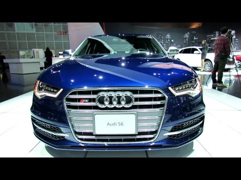 2013 Audi S6 - Exterior and Interior Walkaround - 2012 Los Angeles Auto Show