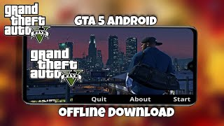 Finally!! Download now GTA 5 Android offline || All characters with cars