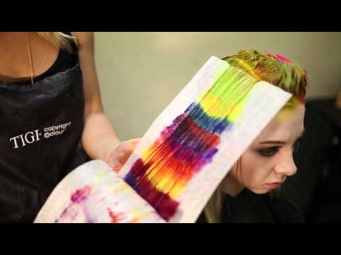 Creating colorful hair w/ Joico and Pravana