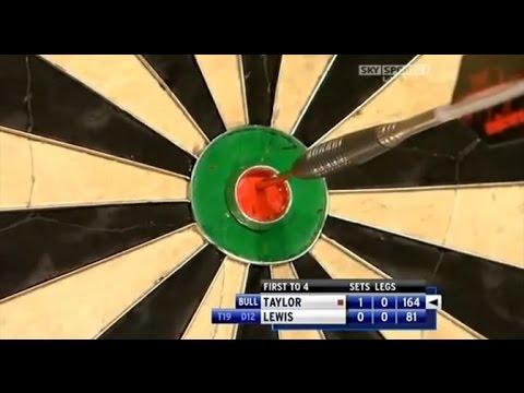 Phil Taylor 164 checkout vs Adrian Lewis - World Grand Prix Darts 2009