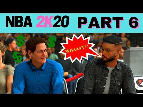 NBA 2K20 MY CAREER - Part 6 - MARK CUBAN SAYS WHAT?! (PS4) #NBA2K20