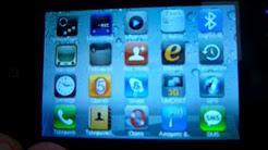 G300 IPHONE1:1 DUAL SIM GPS WIFI TV FREE SKYPE LEATHER GASE