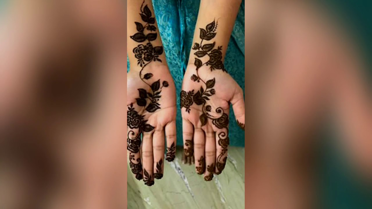 13 Best Instagram Mehandi Design For Hand Youtube
