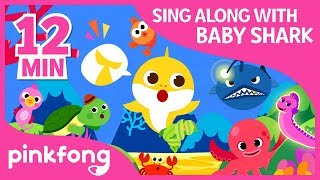 The Shark Dance and more | Sing Along with Baby Shark |  Com...