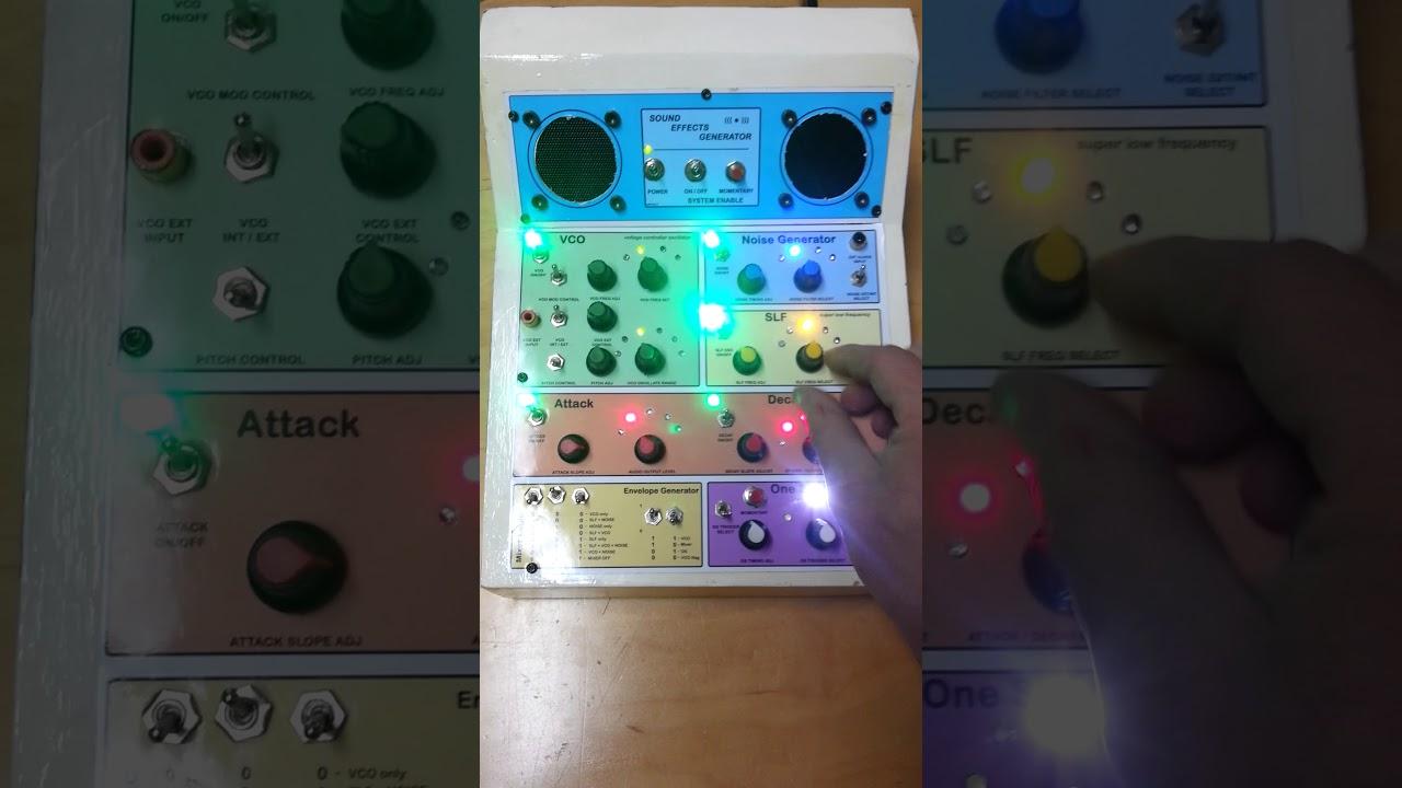 SN76477 Sound Effects Generator
