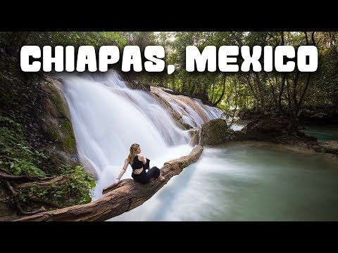 ONE WEEK IN CHIAPAS, MEXICO | Mayan Ruins, Canyons & UNREAL Waterfalls