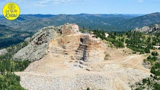 This Crazy Horse Monument Is So Enormous That The Work Needed To Complete It Beggars Belief