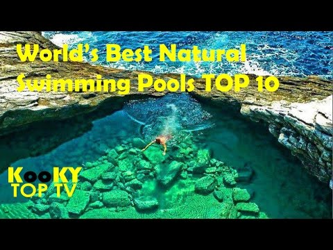top 10 worlds most beautiful natural swimming pools - World S Most Amazing Swimming Pools