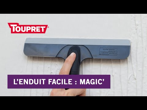Bien Enduire Avec Magic Lenduit Facile Toupret