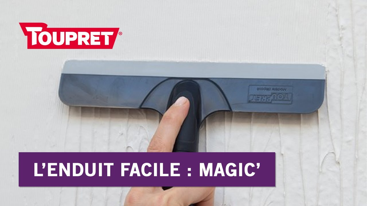 Bien Enduire Avec Magic Lenduit Facile Toupret