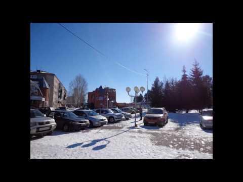 Прогулка по городу КОЛПАШЕВО Томской области