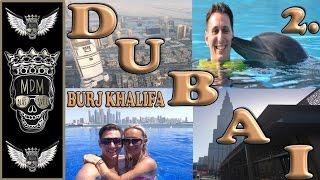 BURJ KHALIFA DUBAI | VLOG | 2 DEN | KAM NA DOVOLENOU S MDM | MÖVENPICK | IBN BATTUTA GATE OBĚD DUBAJ