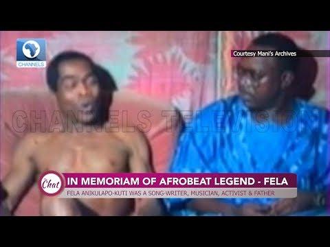 Throwback: Hear Afrobeat Legend Fela Speak About Education In Nigeria |The Chat|