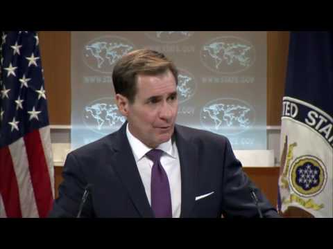 "State Department Spokesman Tells Reporter to ""Calm Down"" over Tough Syria Question"