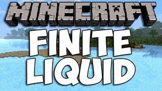 Repeat youtube video Minecraft Finite Liquid Mod | Episode 977