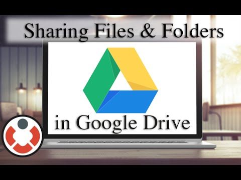 Google Drive Tutorial - Sharing Files and Folders [How to]