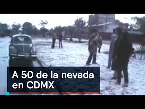 Los testimonios de las personas que vieron CDMX nevada - Denise Maerker 10 en punto