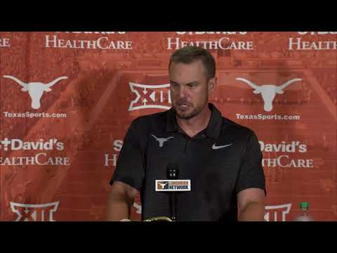 - Herman discusses Longhorns loss to Maryland