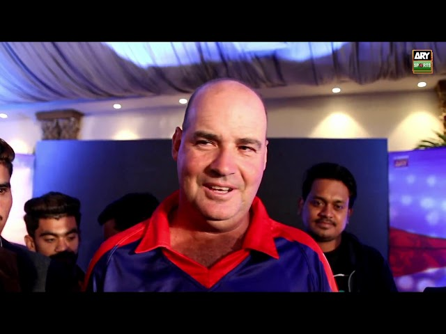 Mickey Arthur talks about Karachi Kings combination and playing in Karachi
