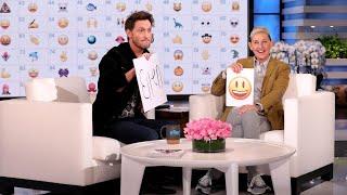 Mentalist Lior Suchard Wows Ellen with Emojis