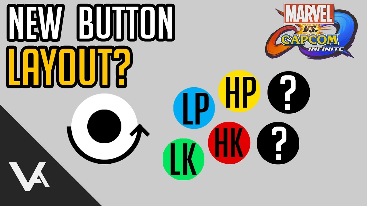 Marvel Vs Capcom Infinite What Is The Button Layout Youtube