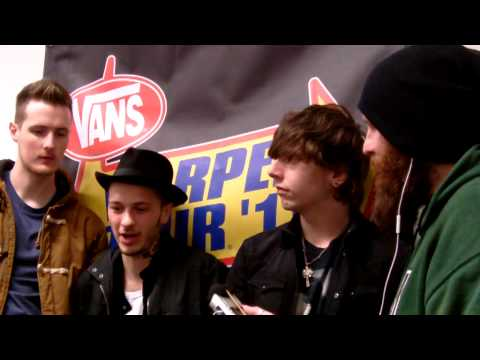 We Are Fiction Interview Vans Warped Tour Nov 2013
