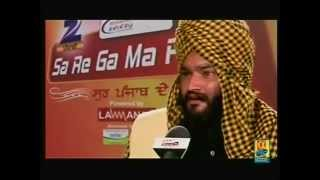 Balwinder Singh Laadi 2012 Sa Re Ga Ma Pa - Gurdas Maan Style Singing And Talking