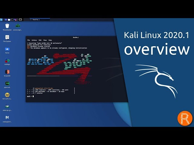 Kali Linux 2020.1 overview | By Offensive Security