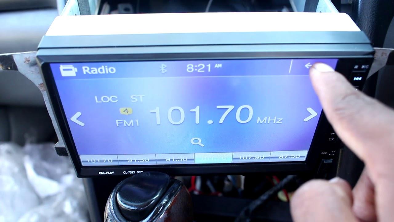 CT-7022B 2din Ebay radio problems