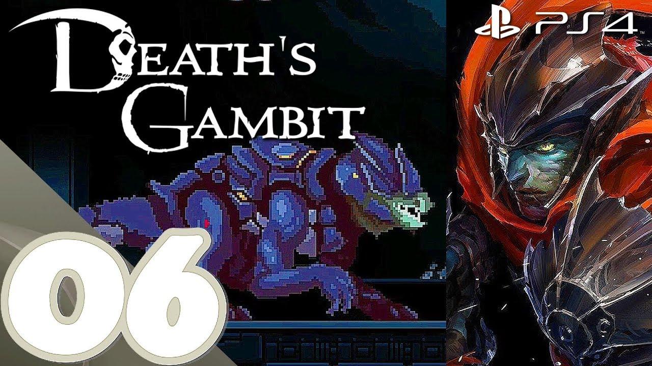 Death's Gambit [PS4] - Gameplay Walkthrough Part 6 Garde Tum & Bysurge - No  Commentary