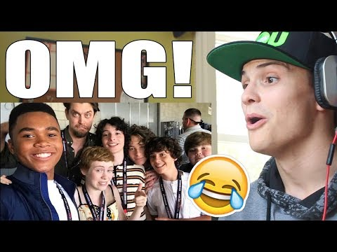 IT MOVIE CAST FUNNY MOMENTS PART 2 REACTION