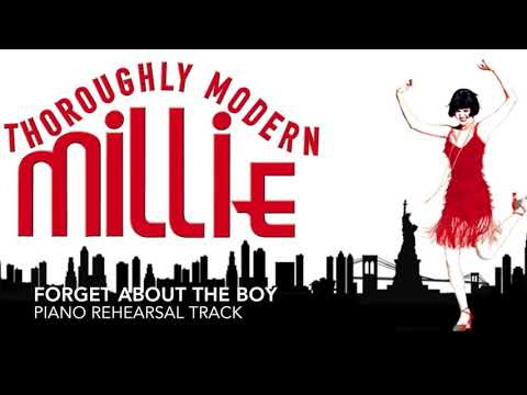 Forget About the Boy - Thoroughly Modern Millie - Piano Accompaniment/Rehearsal Track