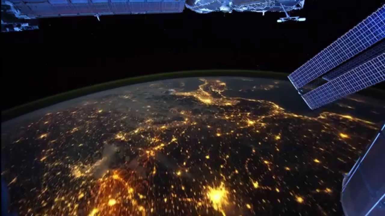 Iss Wallpaper Hd Increible Recorrido Nocturno De La Tierra Desde El Espacio