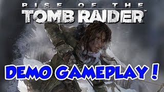 Rise Of The Tomb Raider - Conferindo a Demo PS4