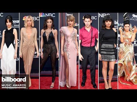Billboard Music Awards 2018 | Red Carpet | Full Video | Celebrity Dresses