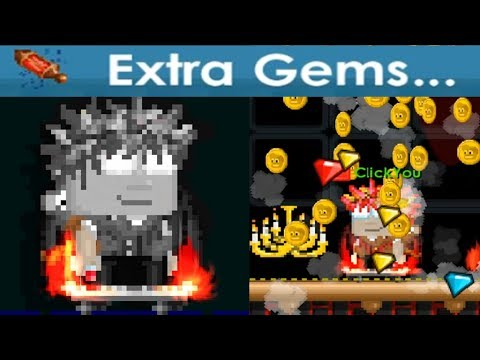 Growtopia - Ancestral Power ile EXTRA GEMS? | Ancestral Nedir ?