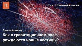Рождение частиц в сильных полях — Эмиль Ахмедов