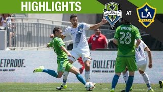 Video Gol Pertandingan La Galaxy vs Seattle Sounders FC