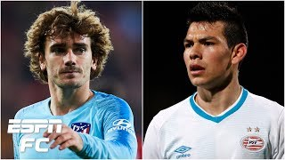 Antoine Griezmann to Barcelona? Hirving 'Chucky' Lozano to Man United? | Transfer Rater
