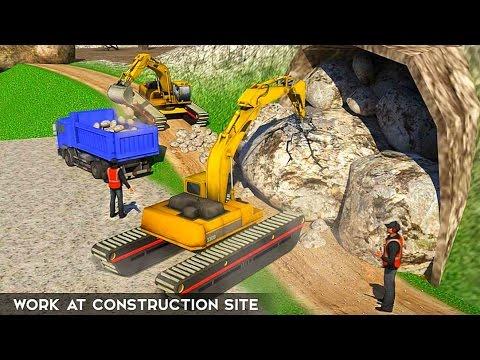 Amphibious Excavator Simulator - Best Android Gameplay HD