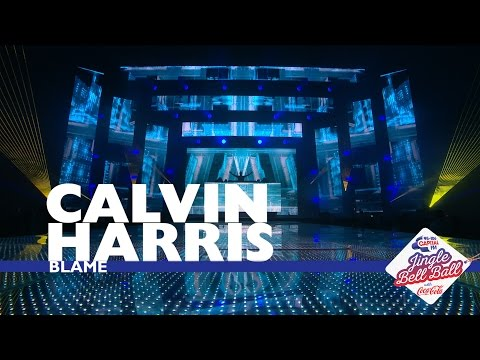 Calvin Harris - 'Blame' (Live At Capital's Jingle Bell Ball 2016)