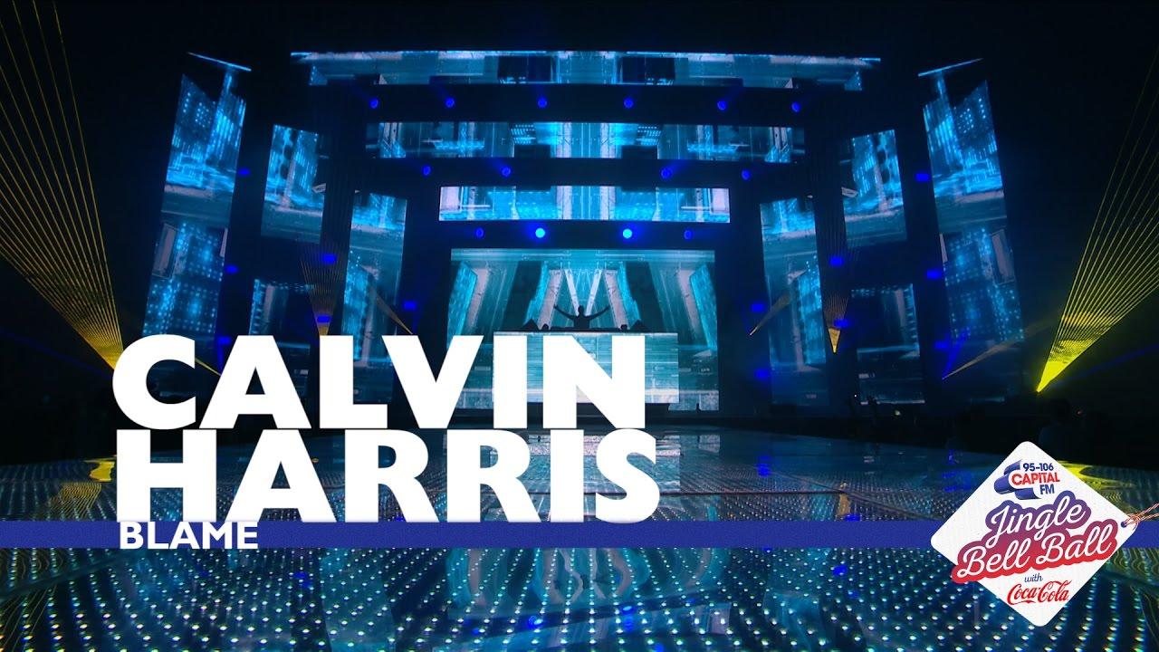 Calvin Harris Blame Live At Capital S Jingle Bell Ball 2016