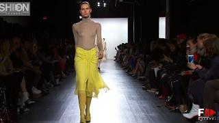 PROENZA SCHOULER Fall Winter 2017-18 Full Show New York - Fashion Channel